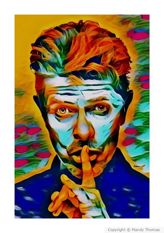 David Bowie The Dictator by  MANDY THOMAS