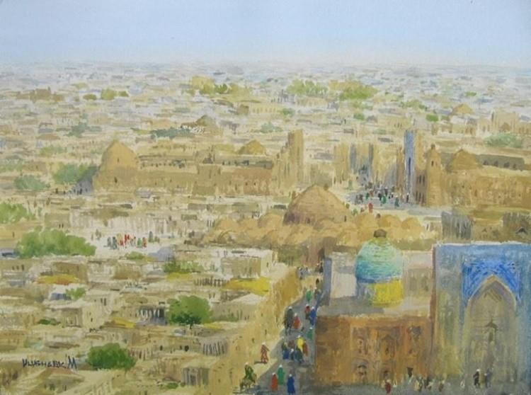 View of old Bukhara