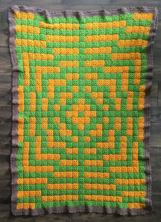 Crochet Optical Illusion
