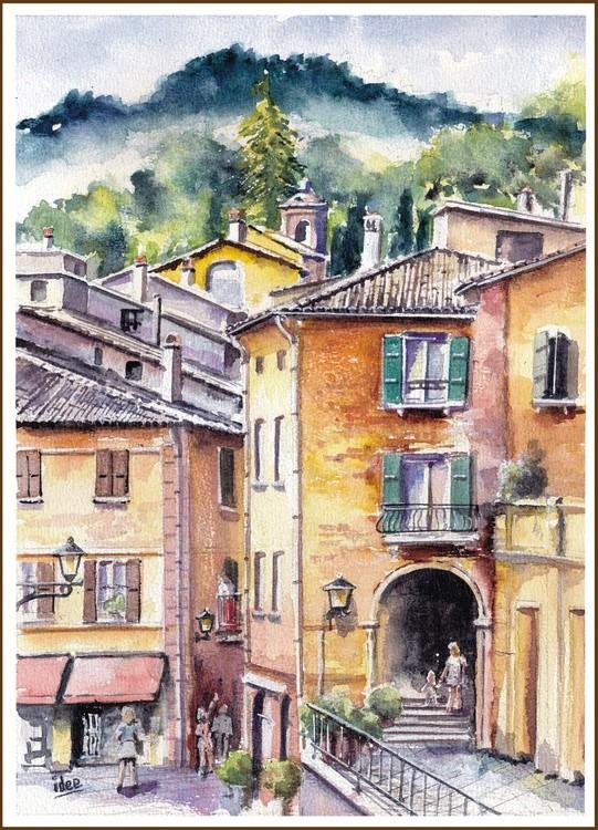 Italian mountain village