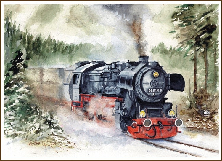 STEAMING THROUGH THE BAVARIAN FOREST