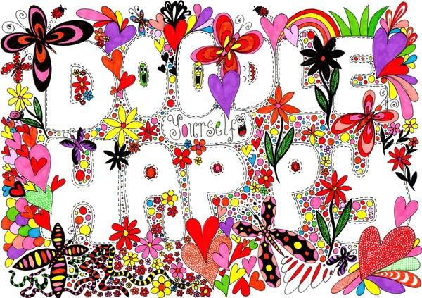 doodle yourself happy