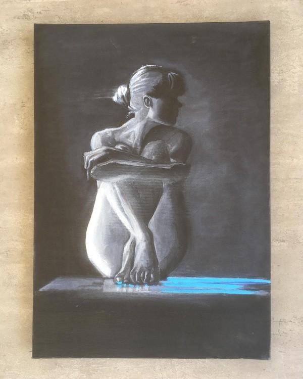 Oil painting 50x35cm