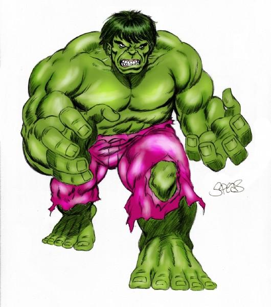 Hulk by Mark Spears