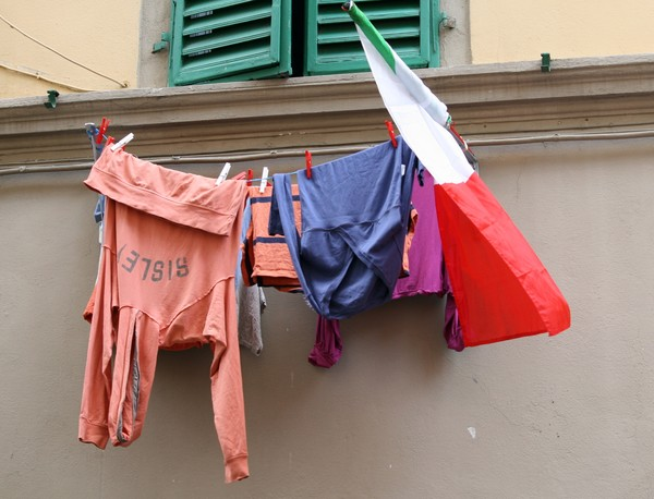 Wash day in Florence