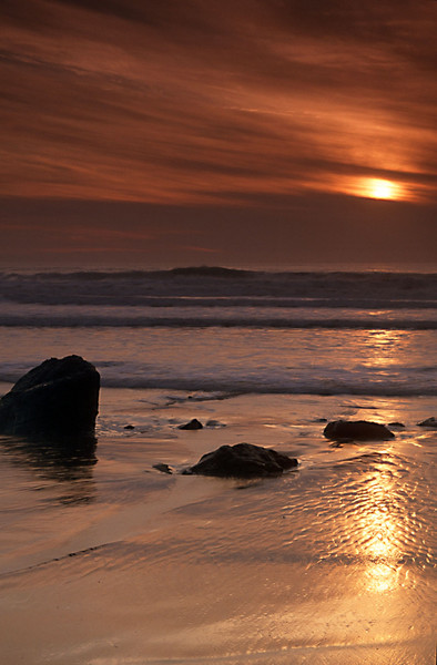 North Coast Golden Sunset