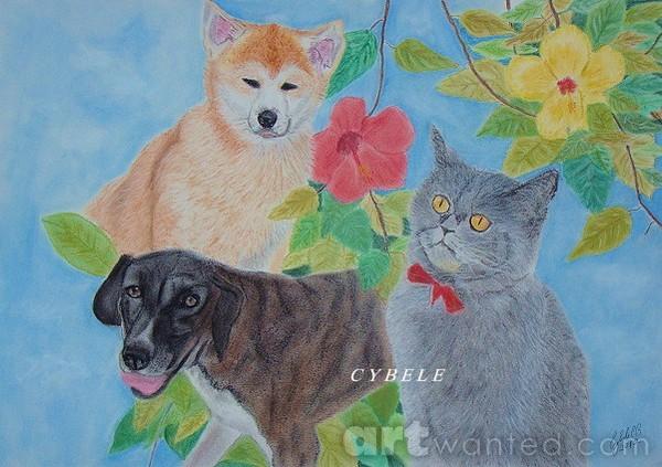 Kazumi, Nina and Lili