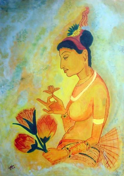 Recreation Sigiri Apsara