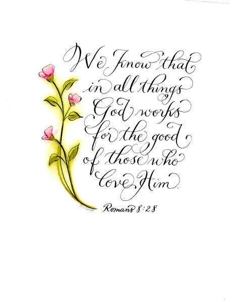 work for good verse calligraphy art