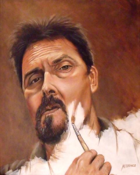 A Self Portrait A.F.Branco