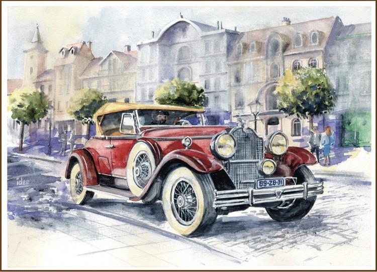 Packard 740 Custom eight roadster from 1930