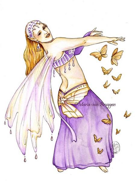 Dancing with butterflies