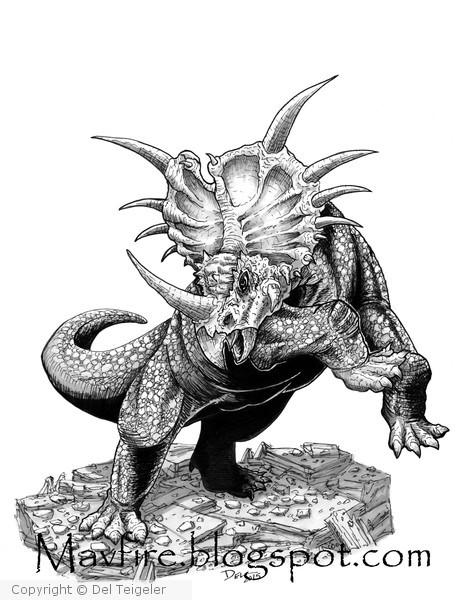Styracosaurus FW