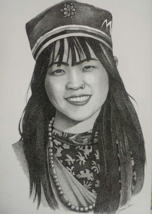 Tamang girl