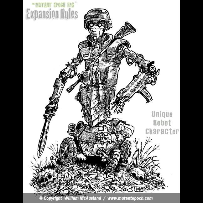 Unique Robot Character Type