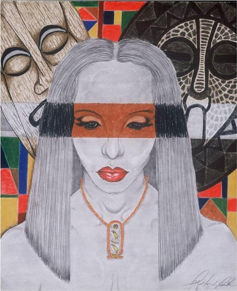 Nefertiti as Isis