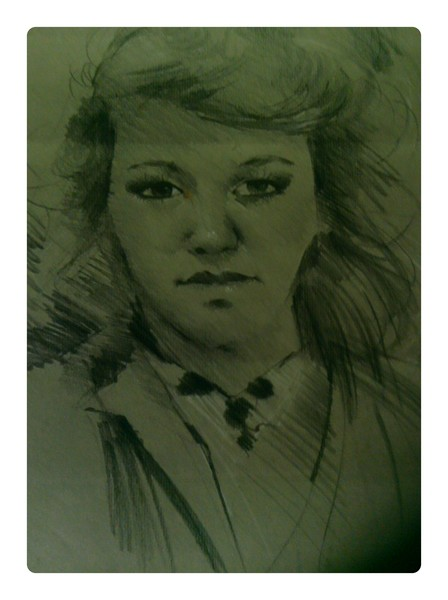 my portrait done in my 20's