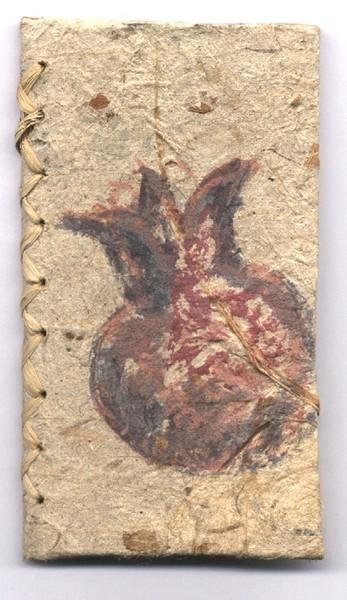 the pomegranate artist's book