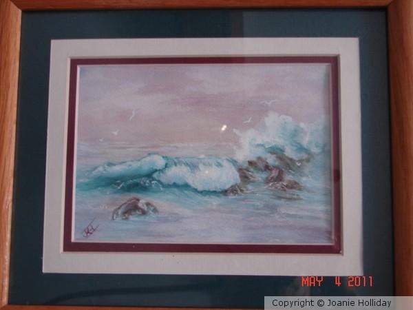 Watercolor Seascape