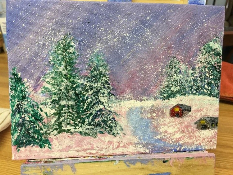 My 2nd winter landscape