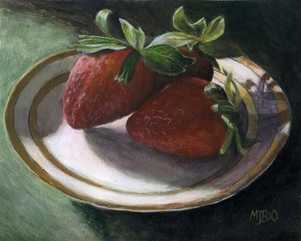 Strawberry Still Life