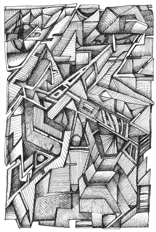 ink drawing 4