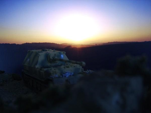 Sunrise on the Steppes