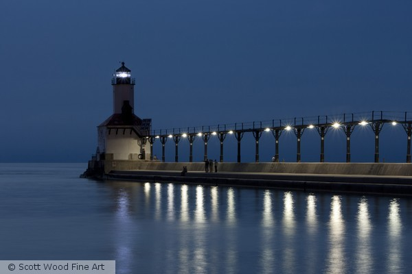 Michigan City, IN East Pierhead Lighthouse