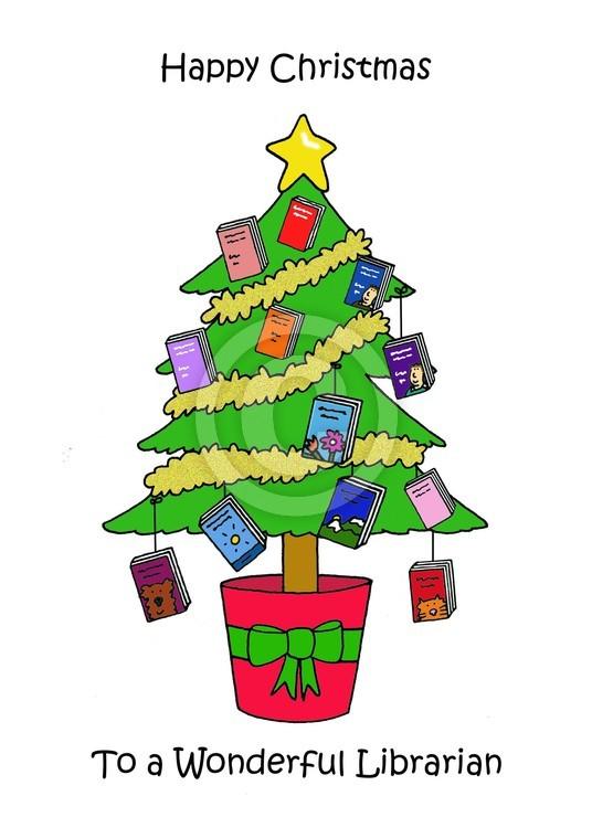 Happy Christmas Wonderful Librarian.