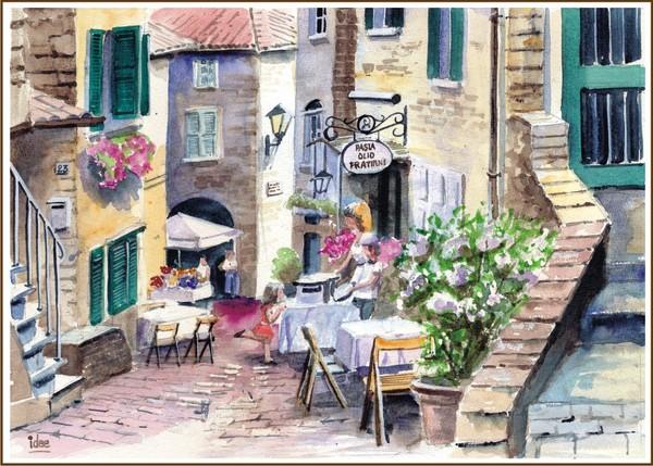 Alley in Malcesine