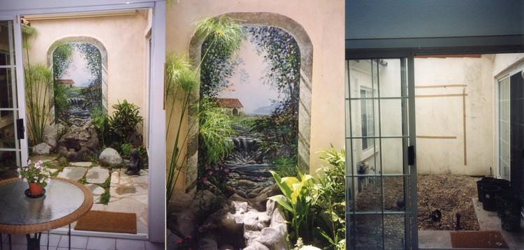 Open Patio to Sea Mural