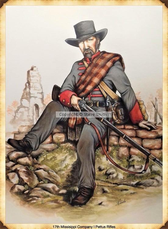 17th Missisippi Co I Pettus Rifles
