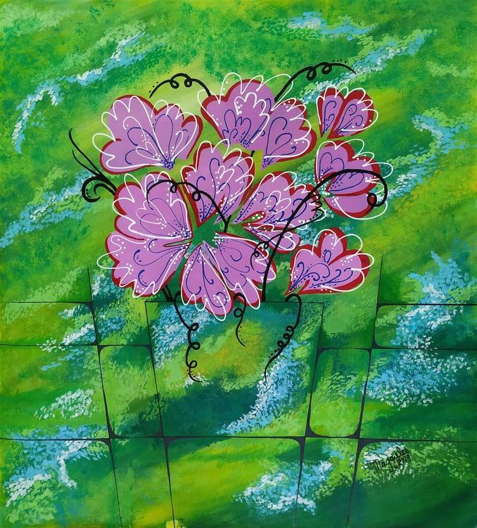 Dancing floral