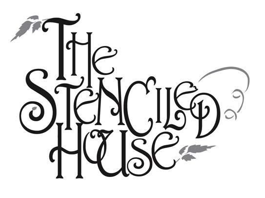 the stenciled house