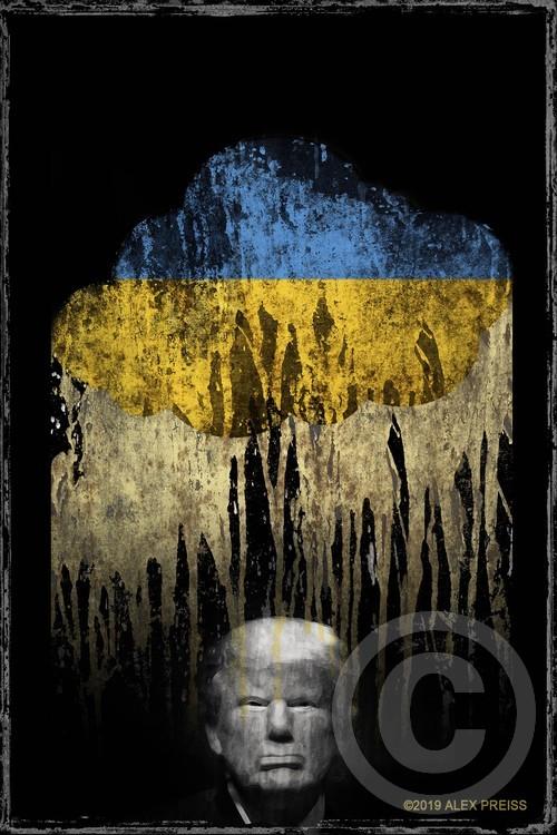 Trump Under The Ukrainian Cloud. When it rains, it pours.