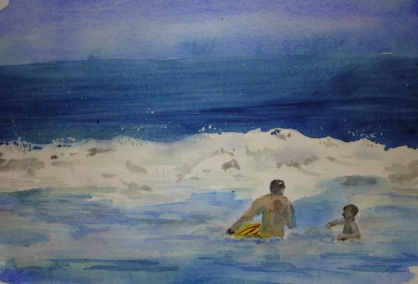 Sketchbook Series:  Beach Play