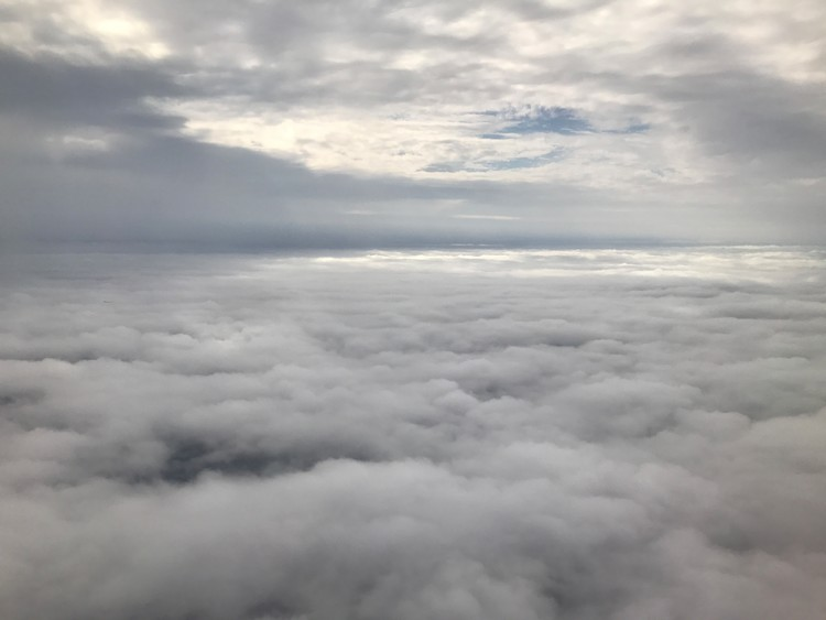 Flight to Tampa, Florida