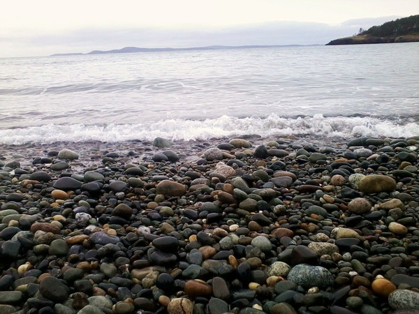 Rocks Upon the Shore