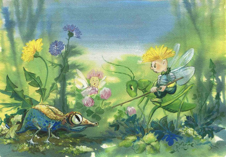 Sow Thistle Prince