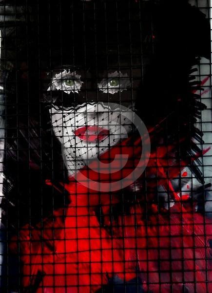 Black mask girl