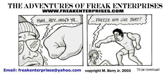 Freak Enterprises Strip #36