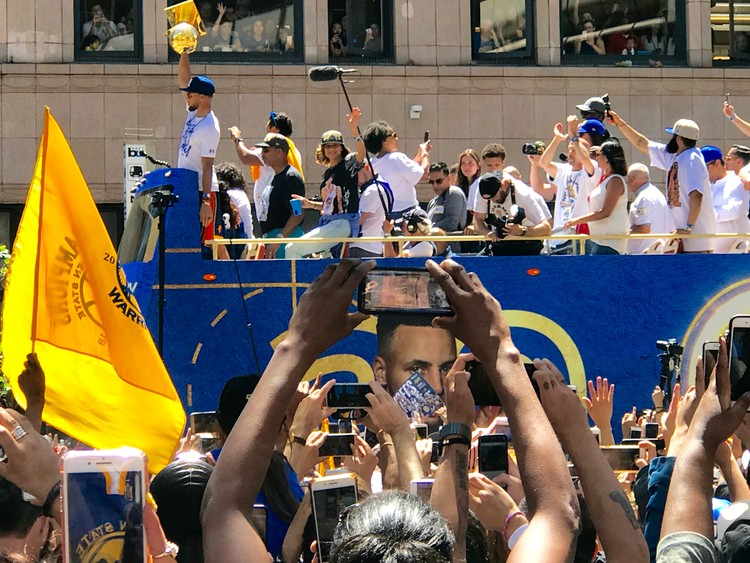 Warriors Victory Parade