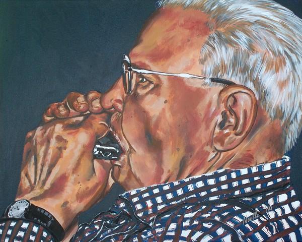 Grandpa Frank on Harmonica