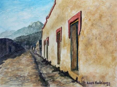Las calles en Guadalupe