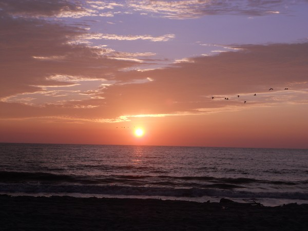 Sunset on Jambeli Island, Ecuador