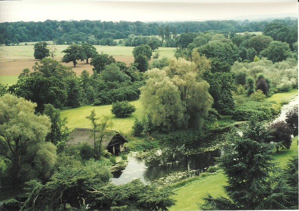 View from Warwick Castle