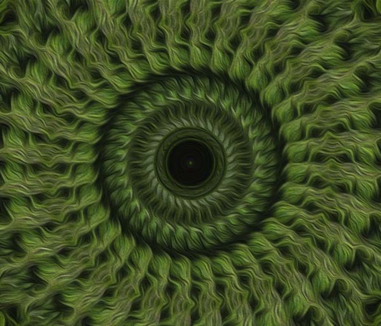 Painted Kaleidoscope 9
