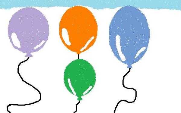 Up, Up, And Away, Balloons