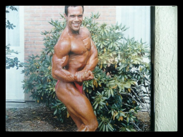 Joe in his pro body building days