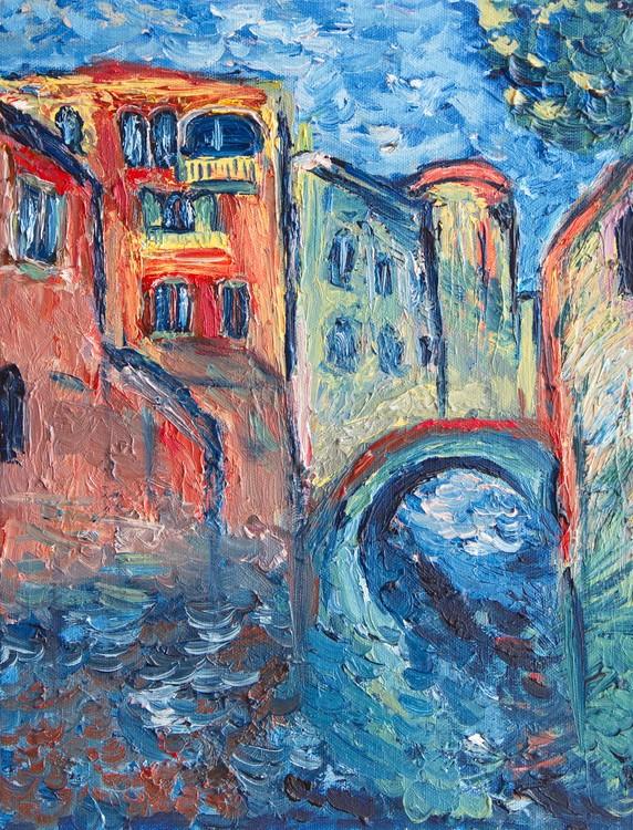 Venice Italy Rio della Salute